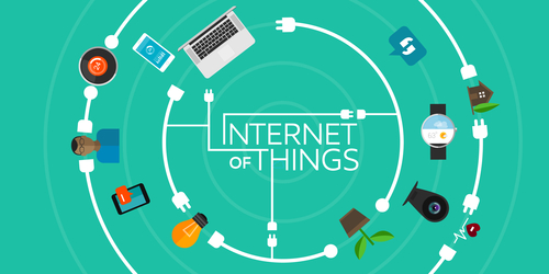 Internet of Things devices connected
