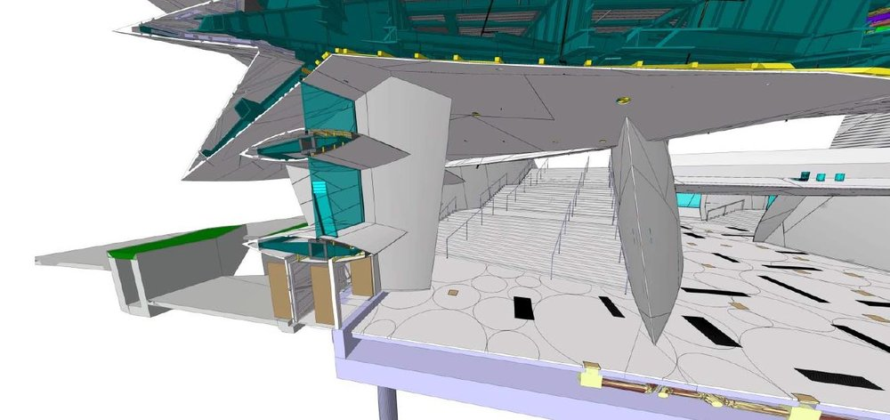 Complex 3D Model of the structure