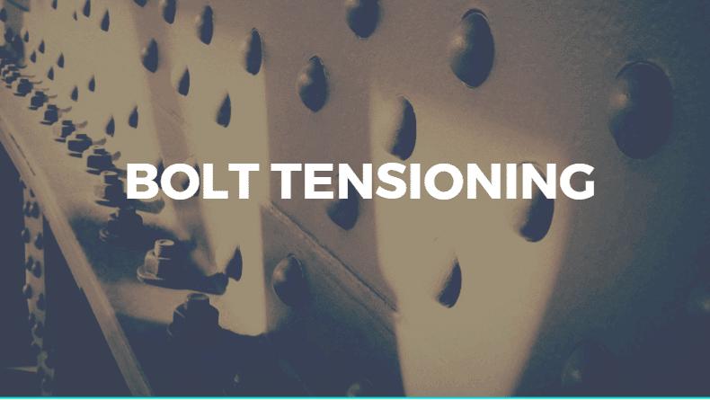 Bolt Tensioning