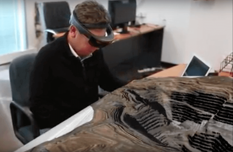 Virtual reality in mining