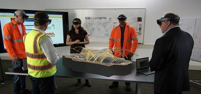 Virtual reality in mining