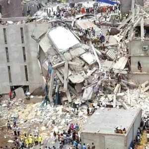 Uncompleted 3 Storey Synagogue Collapse