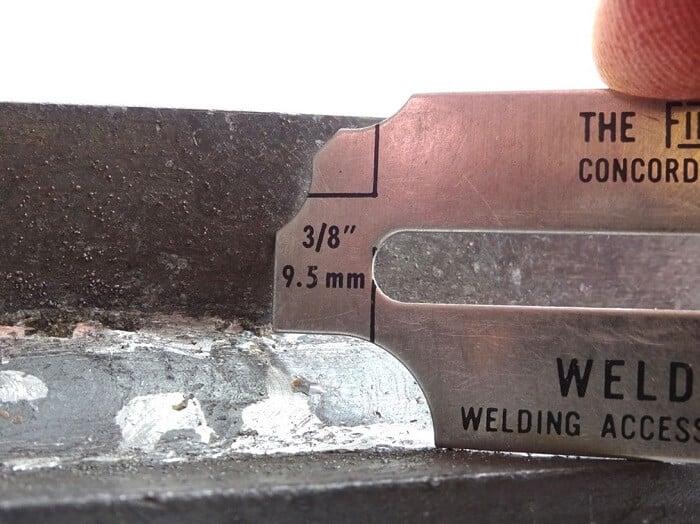 Structural welds Gauge