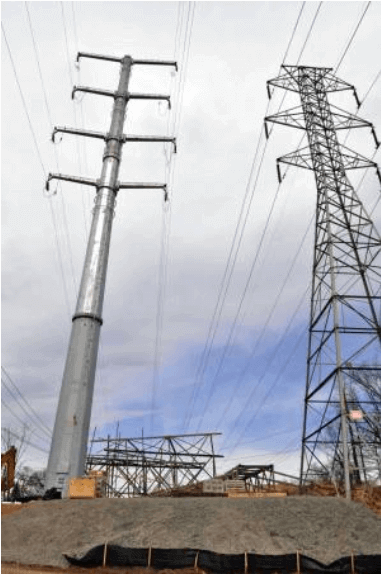 Powerline Structures - Tower & Pole